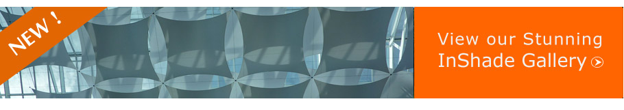 view our commercial interior shade sails gallery